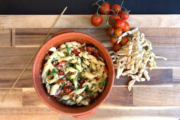 PastaPietro Online Live Experience Busiate with Pesto Trapanese
